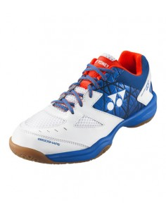 Zapatilla Power Cushion 48 blanca y azul