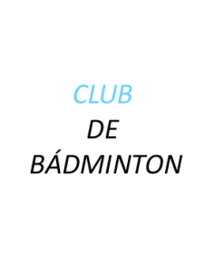 Club De Badminton Sarea